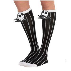 Jack Skellington Knee-High Sock